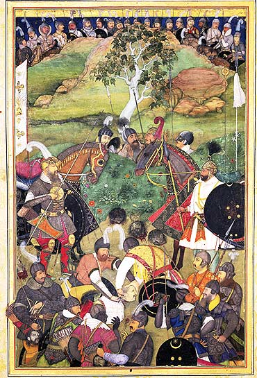 The death of Khan Jahan Lodi