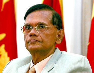 Sri Lankan Foreign Minister Gamini Laxman Peiris