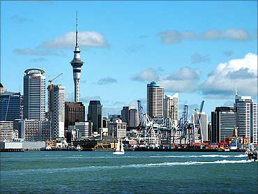 A breathtaking view of Auckland, New Zealand