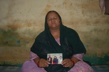 Rehana Bi at her home in Bhopal