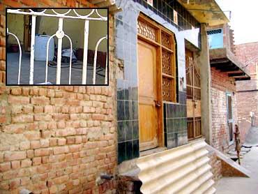 Omprakash's residence in Swarup Nagar