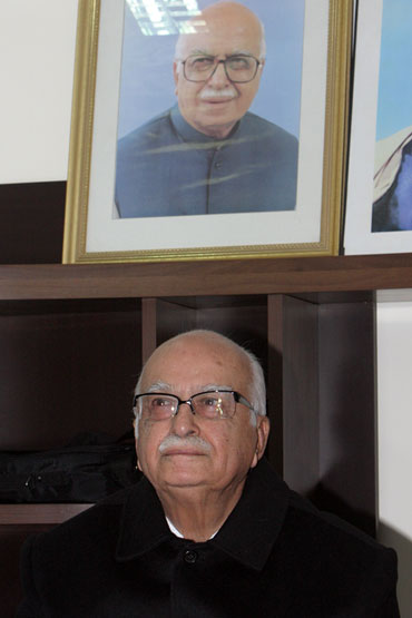 Senior Bharatiya Janata Party leader L K Advani