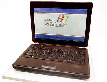 A chocolate laptop