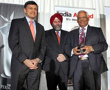 Sreedhar Menon, Manjeev Singh Puri and Vijay Dandapani