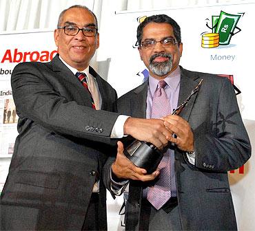 Raju Narisetti with Ajit Balakrishnan