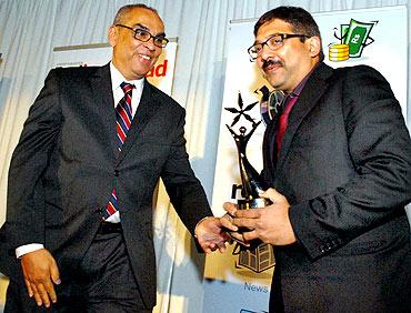 Abhijat Joshi with Ajit Balakrishnan