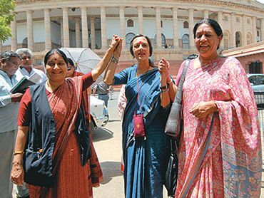 What's the Women's Reservation Bill all about? - Rediff com India News