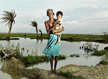 Ajit Das. Ghoramara Island, Sundarbans