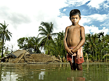 Bipra Mondal. Satjelia Island, Sundarbans