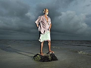 Lalmohan Mondal. Ghoramara Island, Sundarbans