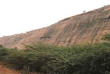 The only reason for excavating Yaanaimalai is to sell the granite
