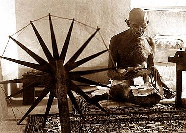 File photo of Mahatma Gandhi