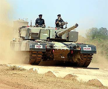 Arjun tank wins the battle for supremacy