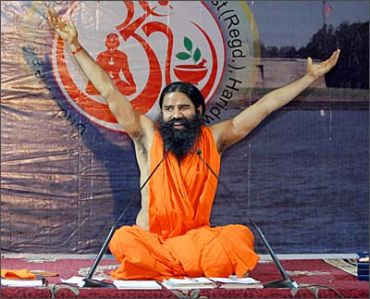 It is certainly not easy being Ramdev