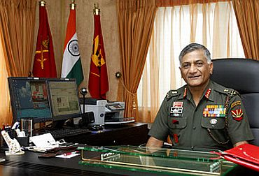 General V K  Singh, Chief of Army Staff