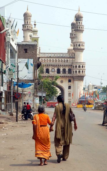 When Hyderabad's streets turned battlefields
