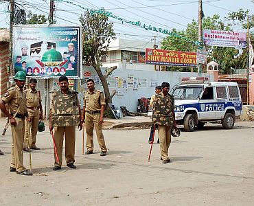 A 'deserted' Hyderabad