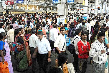 Lakhs of commuters were left stranded by the strike