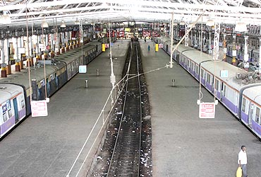 Most stations remained deserted on Tuesday