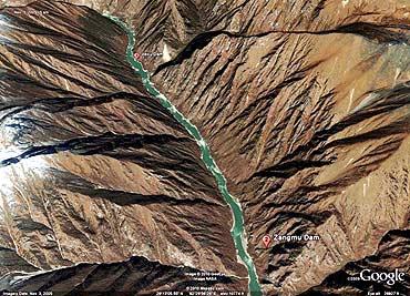 The Brahmaputra gorges