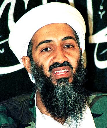 write Bin Laden on their. Most wanted: Osama in Laden