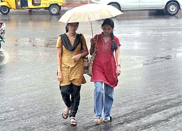 Heavy rains hit Andhra on Thursday