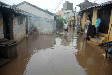 Floodwaters enter homes in Ongole district