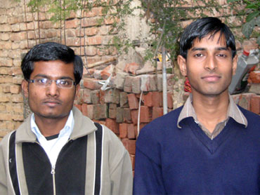 Anoop Kumar and Mohammad Shadab Azam, Super 30 students