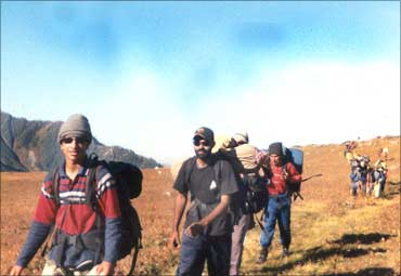 Arjun during an expedition last year
