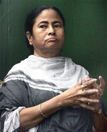 Railway Minister Mamata Banerjee