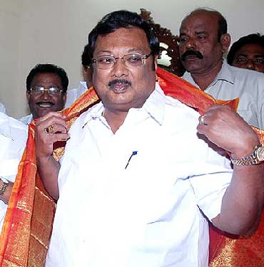 Chemical and Fertiliser Minister M K Alagiri