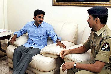 Jagan was kept under house arrest