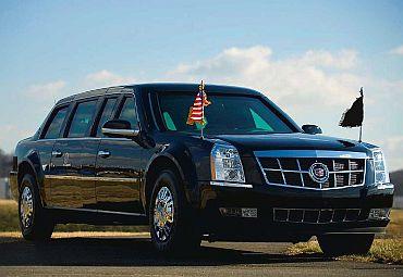 President Obama's Cadillac limousine