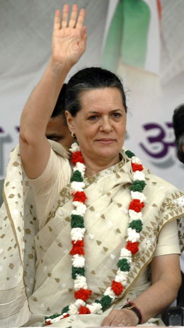 File photo of Congress president Sonia Gandhi