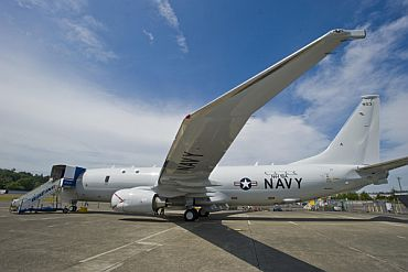 Boeing is delivering eight P-8I aircraft to India