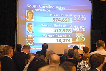 Indian American Nikki Haley is South Carolina Guv