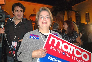 Rebeca Trujillo, a Rubio backer