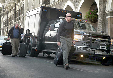 US Secret Service checks out Taj