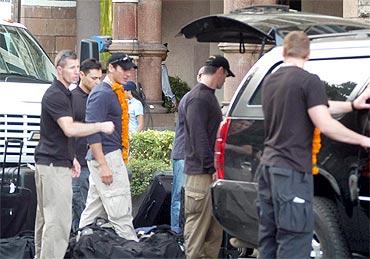 US Secret Service checks out Taj