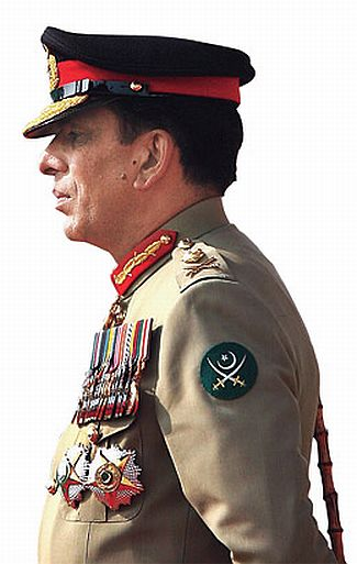 Pakistan's Chief of Army Staff Ashfaq Parvez Kayani