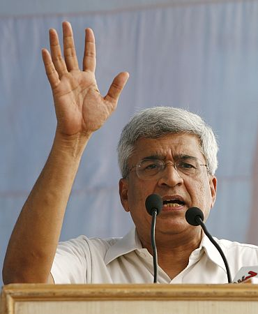 CPM-M general secretary Prakash Karat