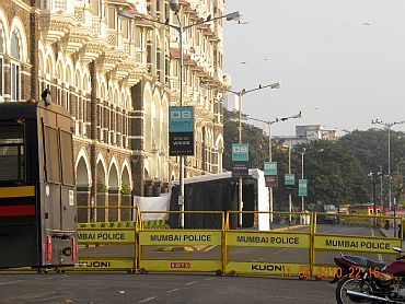 Colaba looks deserted ahead of Obama's arrival