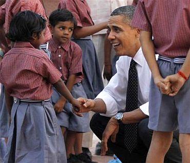 PHOTO album: President Obama's India trip