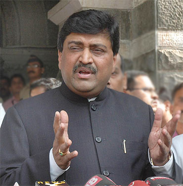 Ashok Chavan was forced to step down after he was linked to Mumbai's Adarsh Housing Society scam