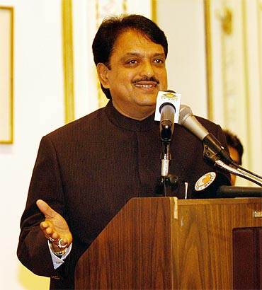 Deshmukh was shown the door after he kicked off a controversy post the 26/11 attacks