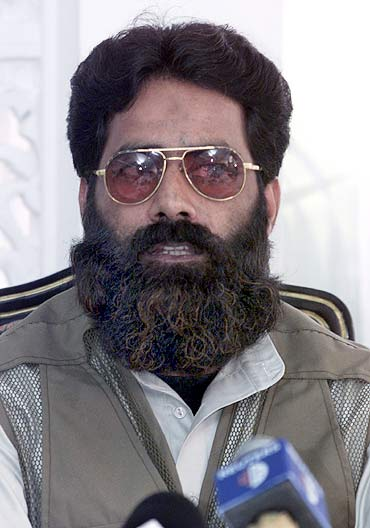 Ilyas Kashmiri, the leader of a Pakistan-based terror group Harkat-ul-Jihad-Islami