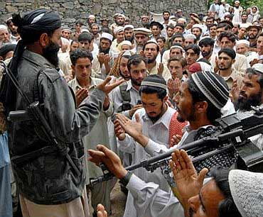 Terror camps have been set up in Pakistan's tribal areas to train terrorists to carry out suicide attacks