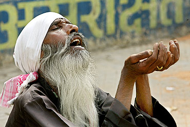 Beggars were sent to 12 shelters across Delhi before the Games and have now been let go