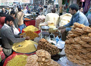 Bakery, mutton, poultry products, fresh vegetables and sweets are in great demand for Eid celebrations