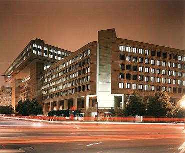 The FBI headquarters in Washington, DC